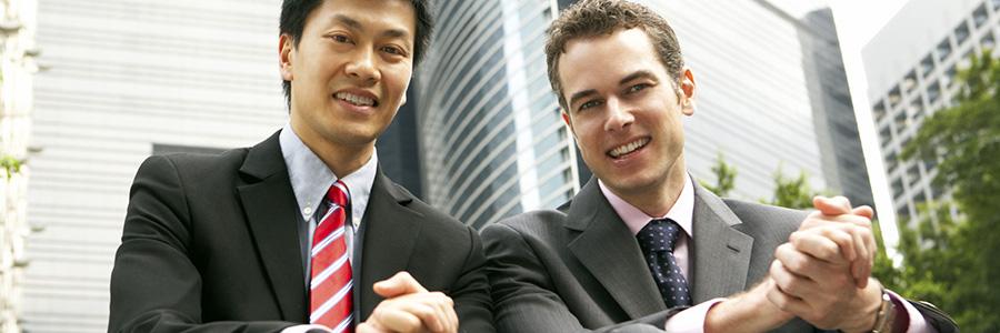 Multicultural businessmen. Intercultural Competence. www.graybridgemalkam.com