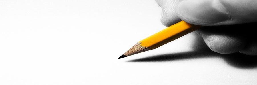 Crayon sur page blanche. Sélection impartiale. www..graybridgemalkam.com