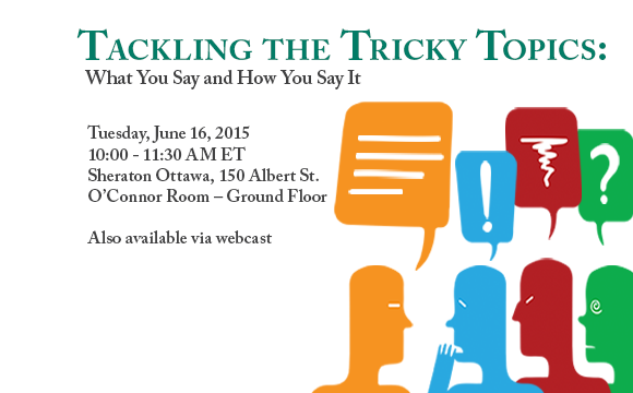 image promoting free workshop and webcast on Tackling the Tricky Topics
